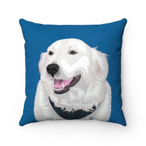 Custom Pet Portrait Cushion Cover