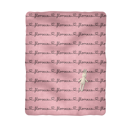 Florence Sublimation Baby Blanket