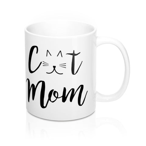 Custom Cat and Owner Mug