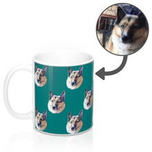 Load image into Gallery viewer, Your Dog on a Mug 11oz