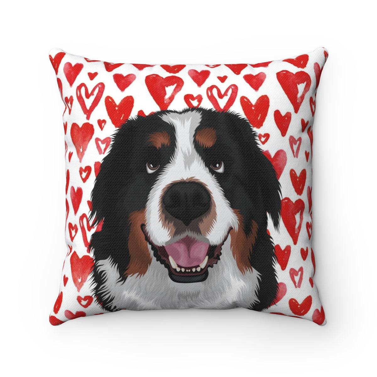 Valentine's Edition Pet Portrait Cushion