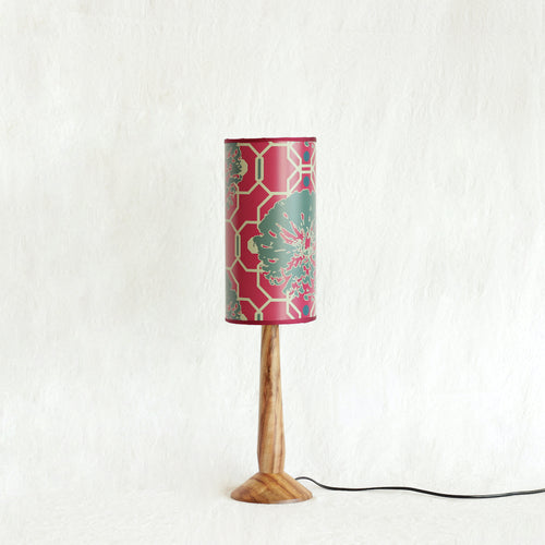 Camilla Cerise Small 15cmW x 30cmH Lampshade with Large base