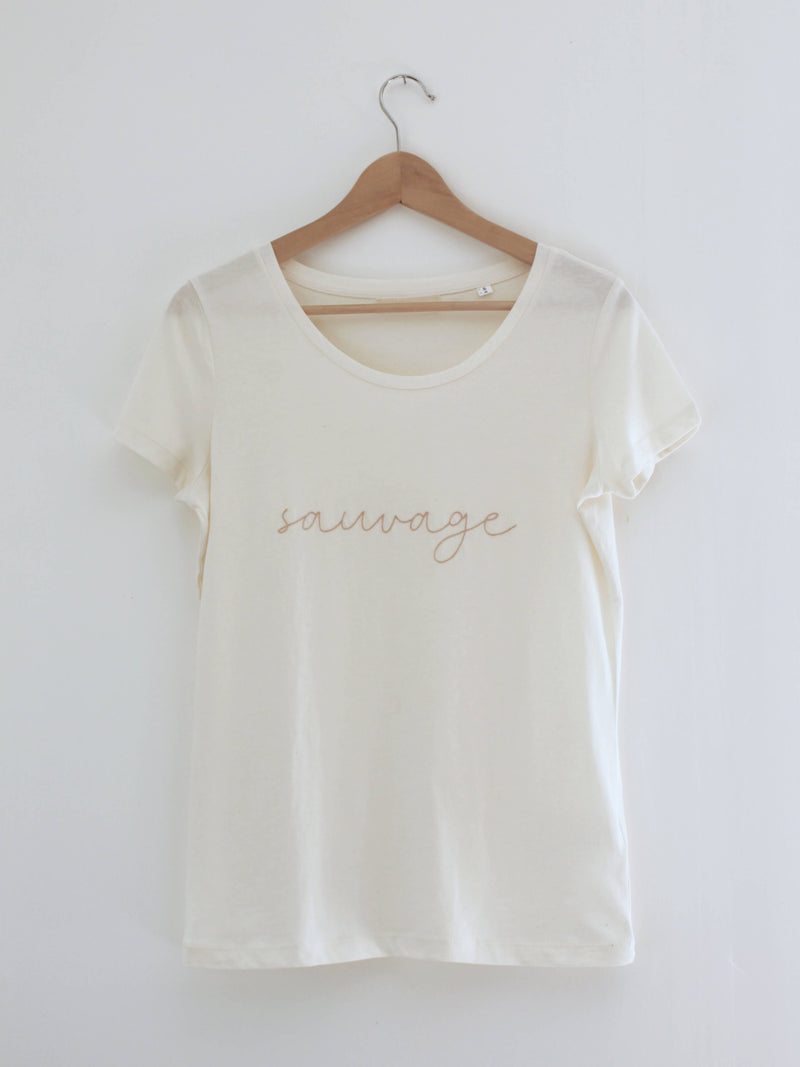 "EDITION LIMITEE - T-SHIRT ""SAUVAGE"""