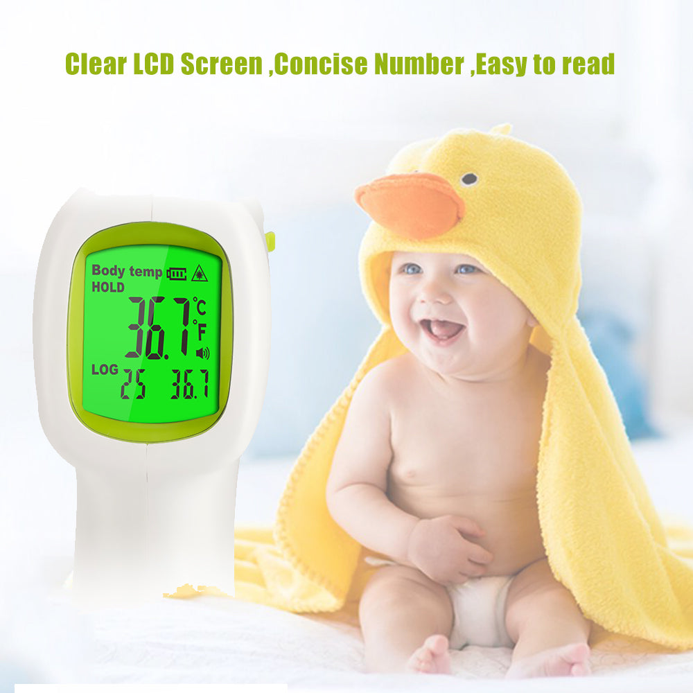 Baby Adult Digital Infrared Forehead Thermometer Multifunctional Body Object Dual Mode Non-Contact Fever Body Thermometer 5