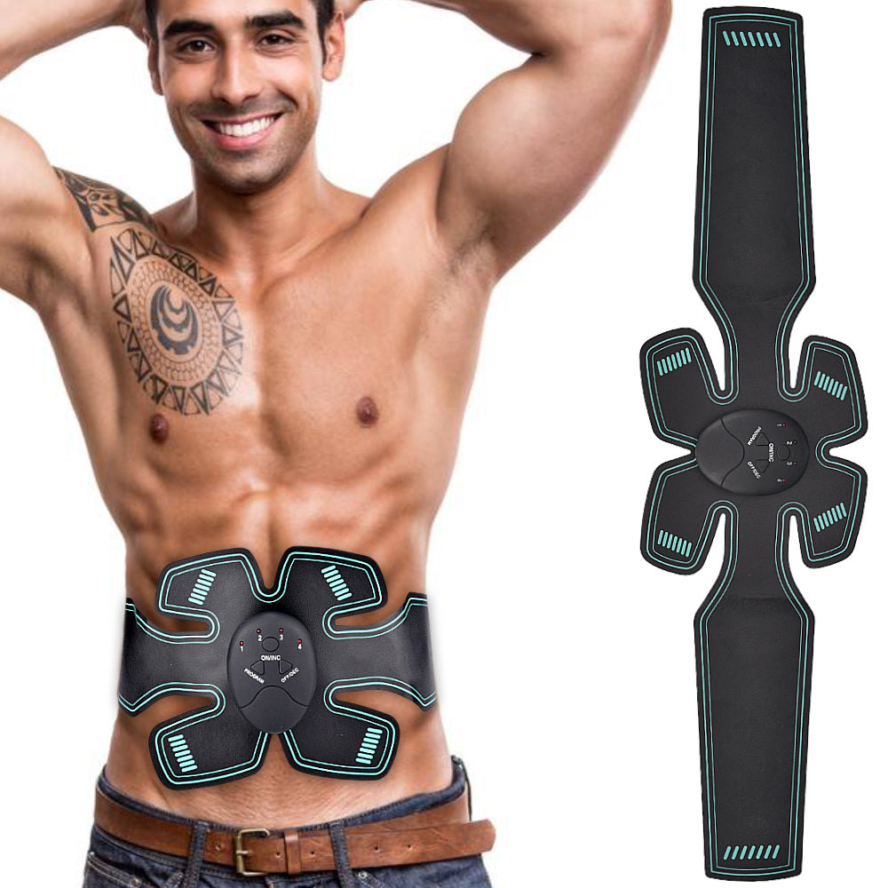 Waist Abdominal Muscle Stimulator Electro Muscle Stimulation Body Slimming Massager EMS Trainer ABS Stimulator Fitness Training 0