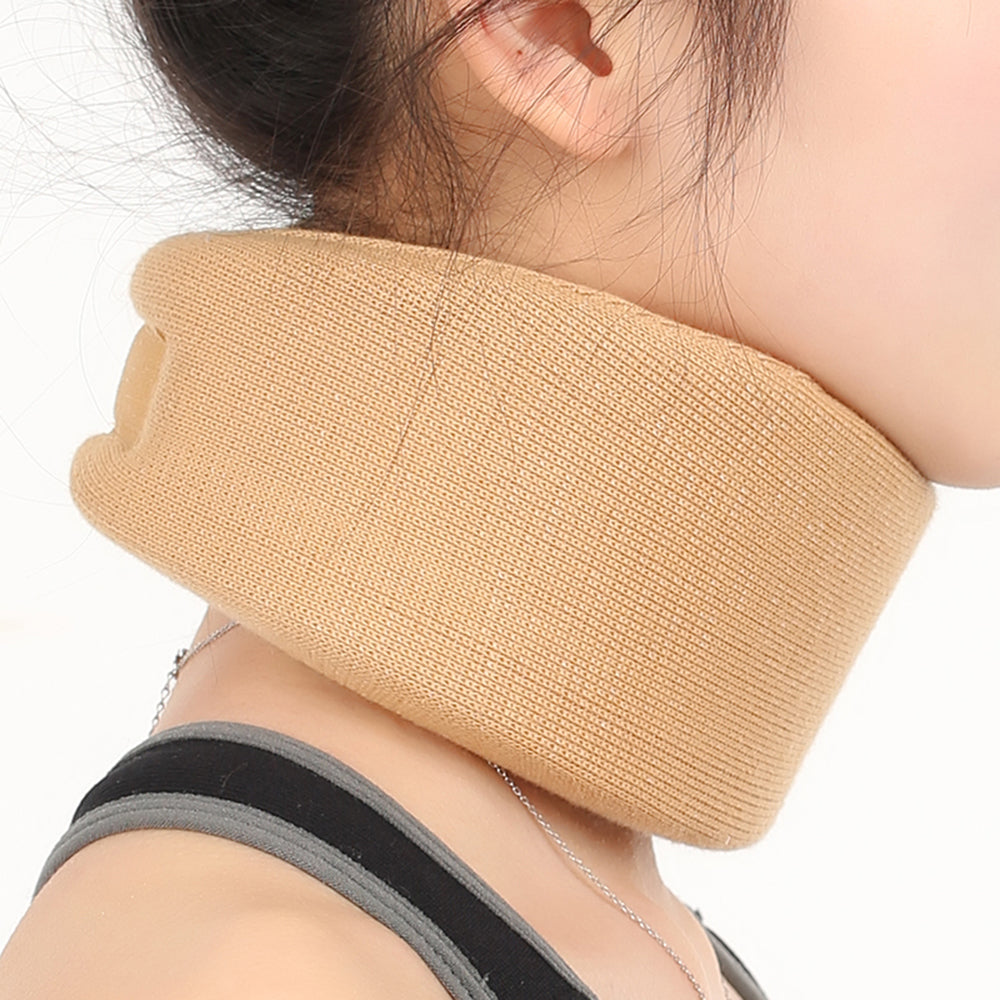 Sponge Split Neck Support Medical Cervical Collar Traction Device Brace Stretcher Pain Relief Vertebra Dislocation Fixation 1