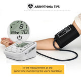 Bzeey Main Image 5-Automatic Upper Arm Digital Blood Pressure Monitor LCD Display Tonometer Meter Sphygmomanometer With Cuff for 22-32cm
