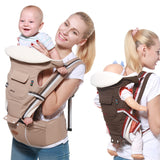 Bzeey Main Image 4-Gabesy  Baby Carrier Ergonomic Carrier Backpack  Hipseat for newborn and prevent o-type legs sling baby Kangaroos
