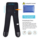 Bzeey Main Image 4-Infrared Heated Knee Brace Wrap Support Massager Injury Cramps Arthritis Recovery Hot Therapy Pain Relief Knee Rehabilitation