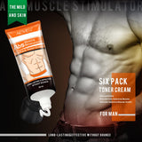Bzeey Main Image 5-Powerful ABS Muscle Stimulation Cream Anti Cellulite Muscle Strong Slimming Cream Six Pack Toner Cream