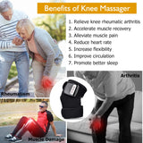 Bzeey Main Image 5-Rechargeable Joint Heat Therapy Massager Knee Shoulder Elbow Joint Physiotherapy Vibrate Massage Arthritis Recovery Pain Relief