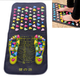 Bzeey Main Image 1-Reflexology Walk Stone Pad Pain Relieve Foot Leg Pain Relieve Relief Walk Massager Mat Foot Muscle Stimulator Acupressure Mat