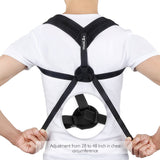 Bzeey Main Image 5-Upper Back Posture Corrector Adjustable Clavicle Support Strap Unisex Adult Back Shoulder Posture Correction Spine Support
