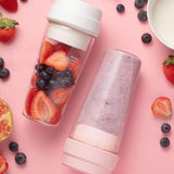 Bzeey Main Image 4-XIAOMI MIJIA 17PIN Star Fruit Cup Small Portable blender Juicer mixer food processor 400ML Magnetic charging 30 Seconds Of Quick
