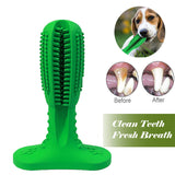 Natural Rubber Dog Toothbrush - Chew Toys Brushing