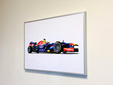 Metal Print with Aluminum Frame