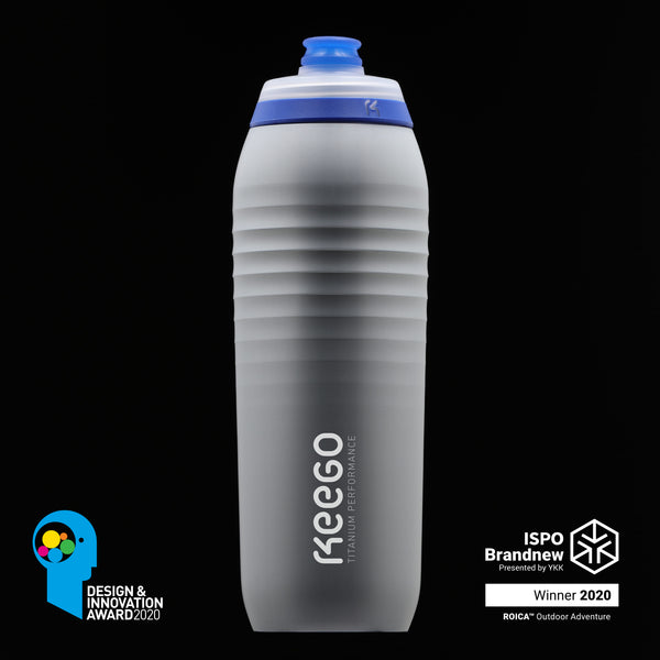 Silver Stardust. As durable as a metal bottle but as light as a plastic one, KEEGO keeps your equipment light and functional.