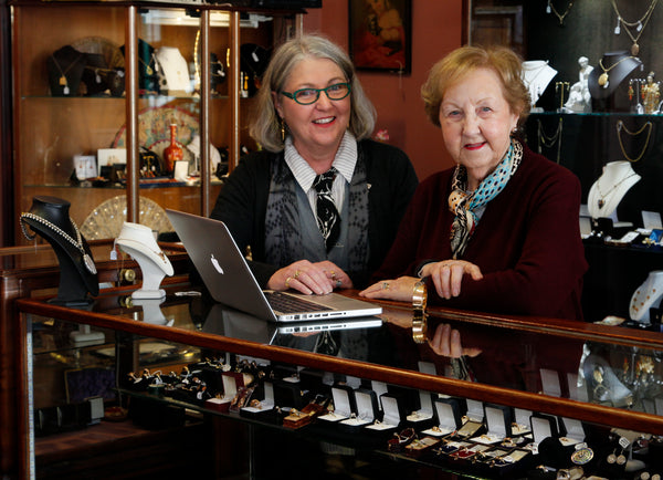 Therese Howard & Mary Howard - Bloomsbury Antiques - Owners