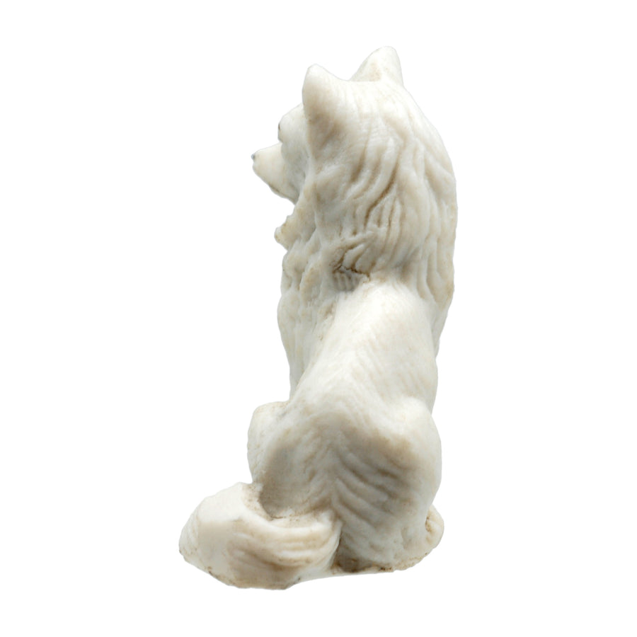 Antique Bisque Figure of a German Shepherd.