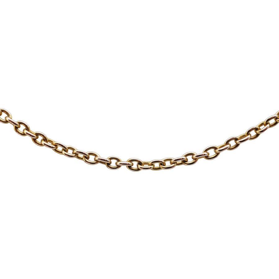 Antique 15ct Yellow Gold Belcher Chain