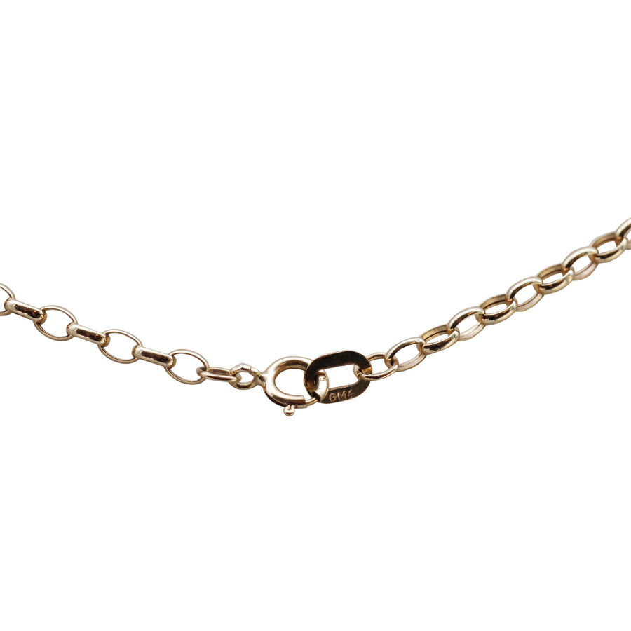 9ct Yellow Gold Belcher Chain .