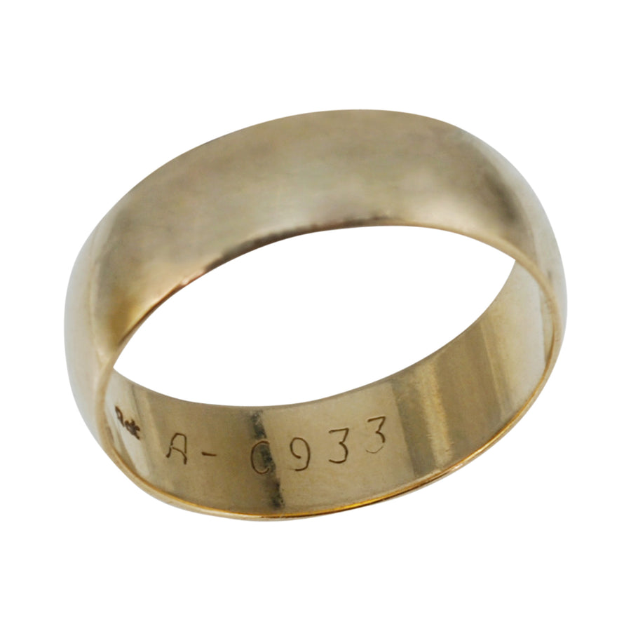 Vintage 9ct Gold Wedding Ring