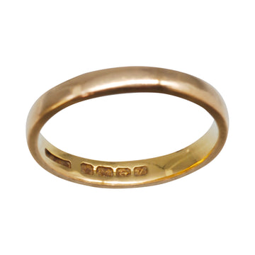 Antique 22ct Rose Gold Band 3.5gm