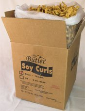 Butler - Soy Curls  Family Size - 12 lbs.