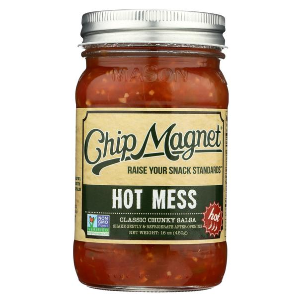 Chip Magnet - Hot Mess Salsa - 16 oz.