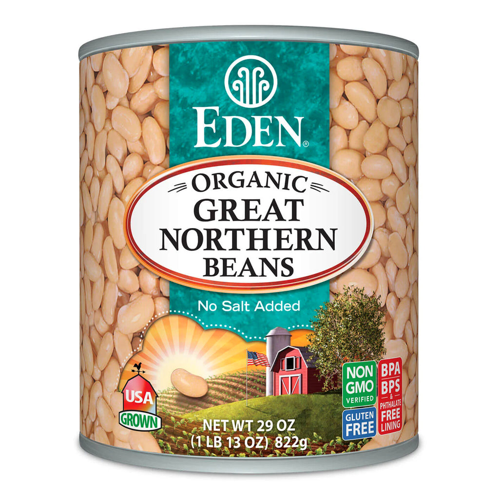 Eden Foods - Great Northern Beans Organic 29oz.