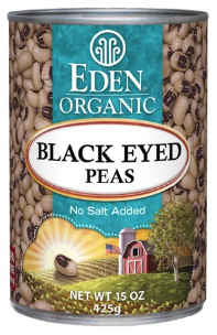 Eden Foods - Black Eyed Peas Organic 15oz.