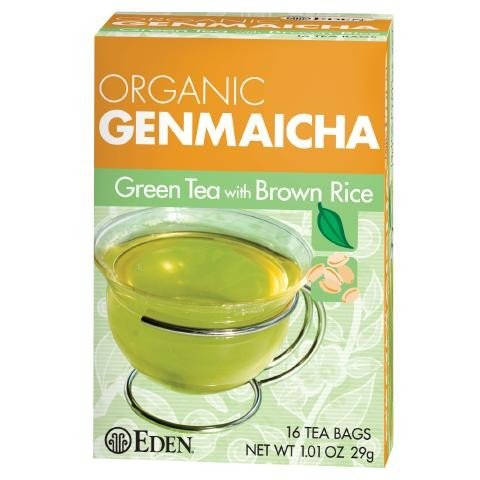 Eden Foods - Genmaicha Tea 1.01oz bag