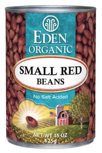 Eden Foods - Small Red Beans Organic 15oz.