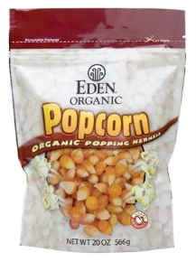 Eden Foods - Yellow Popcorn Organic - 20oz.