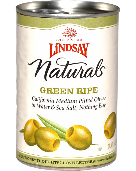 Lindsay Olives - Green Medium - 6 oz.
