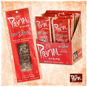 Primal Strips - Hot Spicy - 1 oz.