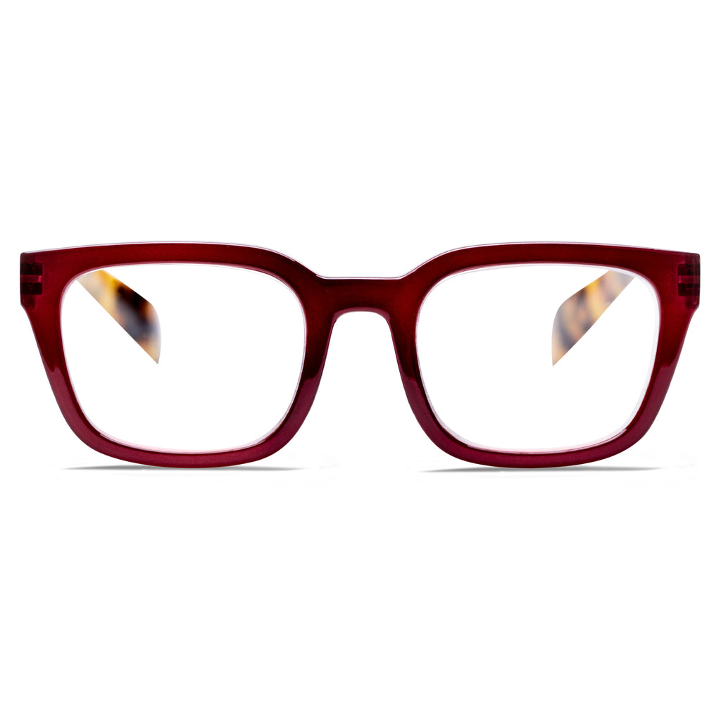 HARRISON | Deep Cherry / Tortoise