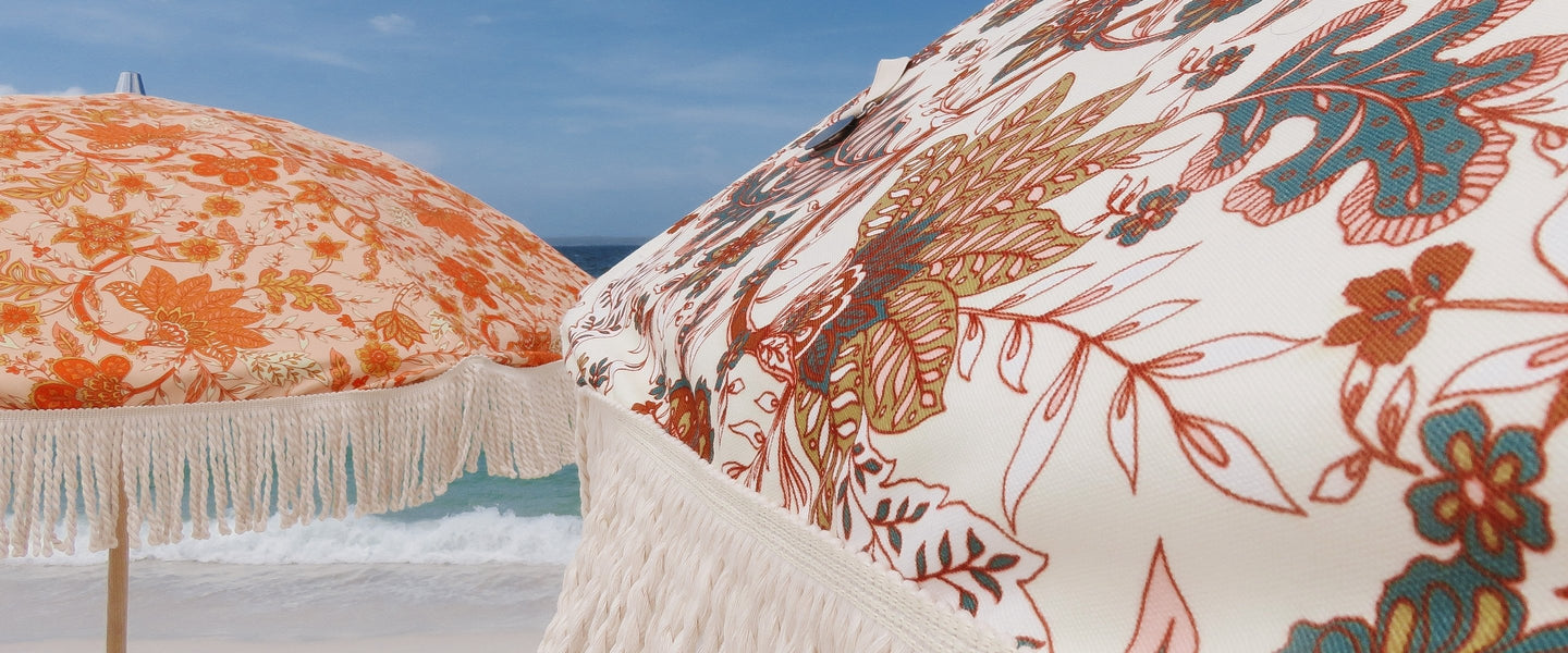 Boho Beach Umbrellas