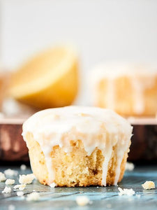 Vegan Lemon Pound Cake Cupcakes