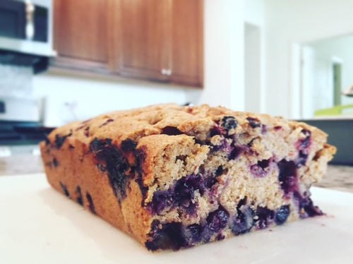 Vegan Blueberry Loaf