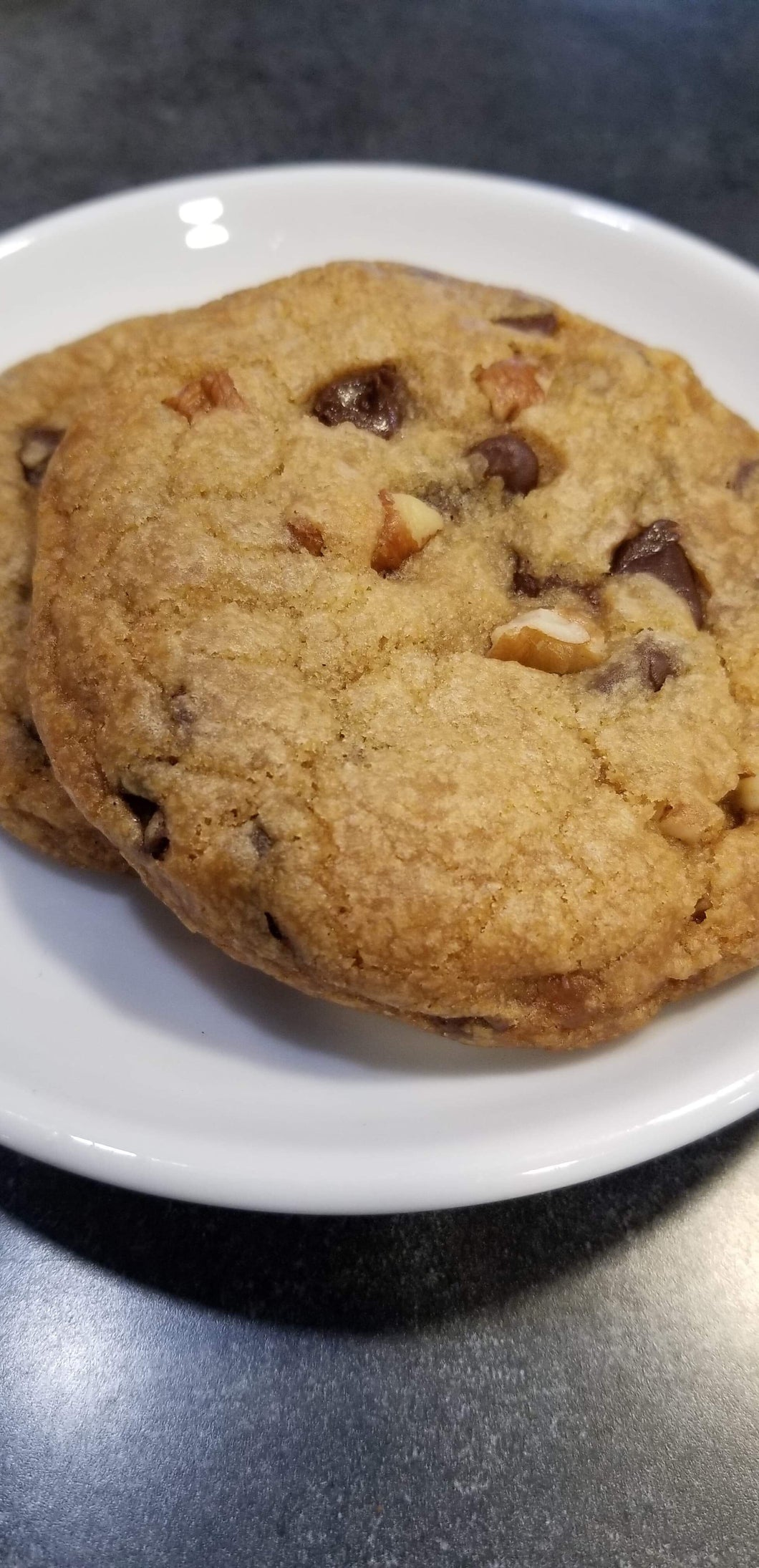 Vegan Chocolate Chip Pecan Cookies