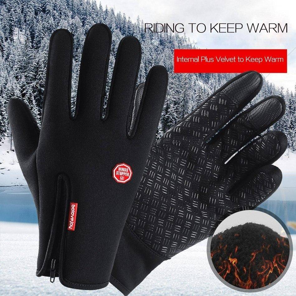 Cycling Gloves Winter Touchscreen/Waterproof
