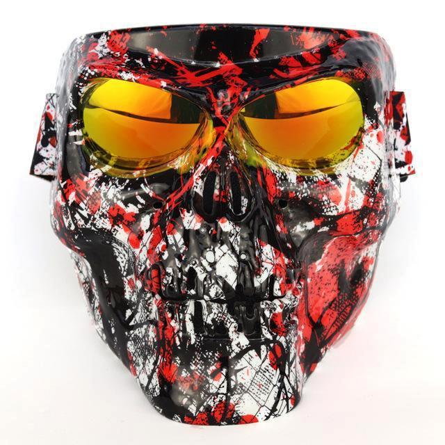 PREMIUM FULL FACE MOTORCYCLE MASK