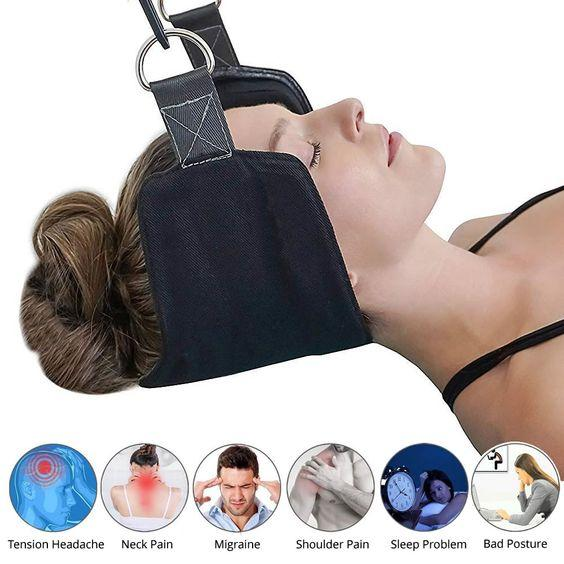 Neck Hammock - Adjustable Neck Support and Posture Corrector