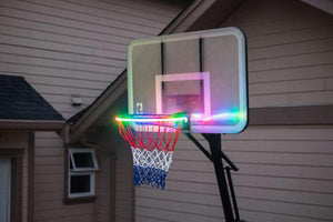 Bright Basket - LED Lit Basketball Rim Night Shooting