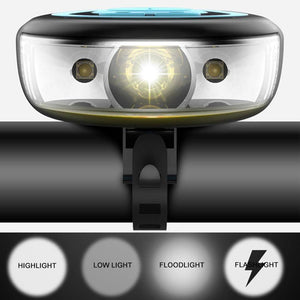 Front Cycling Flashlight