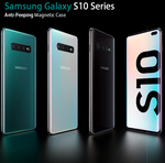 Samsung Galaxy S10 Series Anti-Peeping Magnetic Case