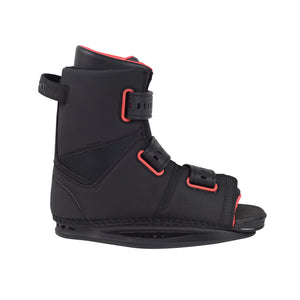 New 2021Slingshot wake boots on sale. Men's new product. Side view.