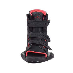 New 2021Slingshot wake boots on sale. Men's new product. Front view.