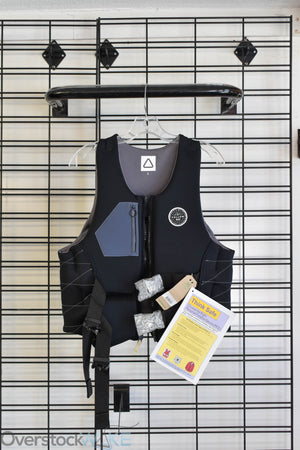Follow Wake ladies neoprene wake vest. Front view.